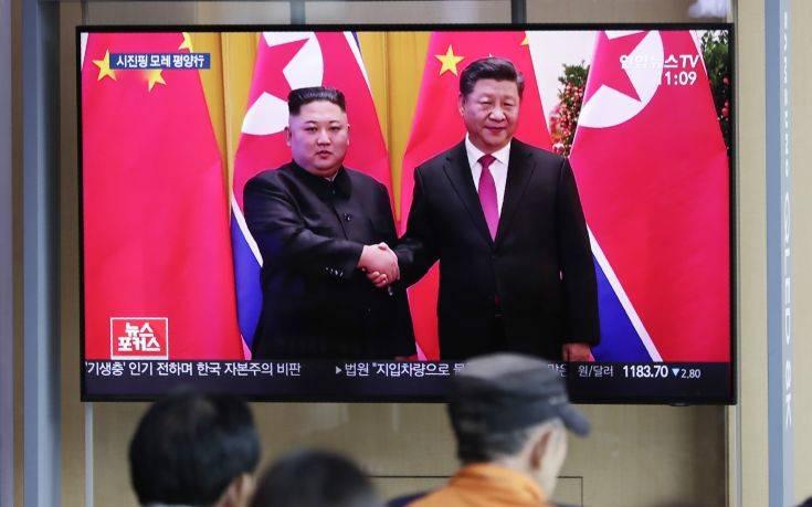 Στη Βόρεια Κορέα για διήμερη επίσκεψη ο Σι Τζινπίνγκ