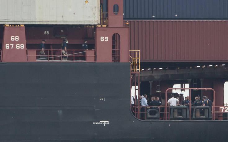Ποσότητα-μαμούθ 16,5 τόνων κοκαΐνης σε πλοίο στις ΗΠΑ
