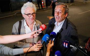 Μουντιάλ 2022: Ελεύθερος ο Πλατινί μετά από κατάθεση 15 ωρών