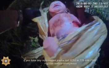 Αντιδράσεις για το βίντεο με το νεογέννητο μωρό μέσα σε κλειστή σακούλα