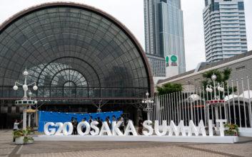 Με πέντε καυτά θέματα η ατζέντα της Συνόδου του G20 στην Ιαπωνία