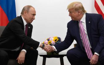 Ο Πούτιν προσκάλεσε τον Τραμπ στη Μόσχα τον Μάιο του 2020