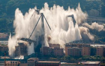 Ιταλία: Η κυβέρνηση θα ανανεώσει την σύμβαση με την Atlantia παρά τη φονική γέφυρα στη Γένοβα