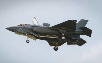 «Ο αποπροσανατολισμός του πιλότου οδήγησε στη συντριβή του μαχητικού F-35»