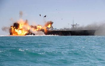 Συναγερμός στον Κόλπο του Ομάν: «Το δεξαμενόπλοιο Front Altair δέχθηκε επίθεση, το πλοίο φλέγεται»