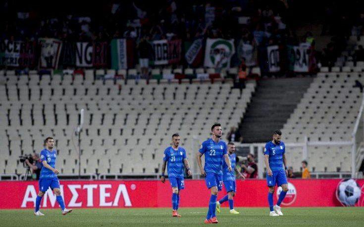 Ελλάδα-Ιταλία: Εύκολη… ήττα με 0-3 για την Εθνική