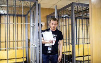 Τρεις εφημερίδες με το ίδιο πρωτοσέλιδο για στήριξη στον Ρώσο δημοσιογράφο Γκολούνοφ
