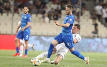 Ελλάδα-Ιταλία: Με 0-3 προηγούνται οι «ατζούρι» στο ημίχρονο