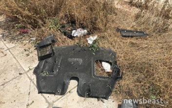 Τροχαίο στην παραλιακή: Φωτογραφίες από το σημείο όπου τραυματίστηκε σοβαρά γιος γνωστού εφοπλιστή