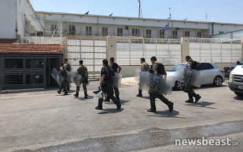 Φωτογραφίες από τις φυλακές Κορυδαλλού μετά τις άγριες συμπλοκές