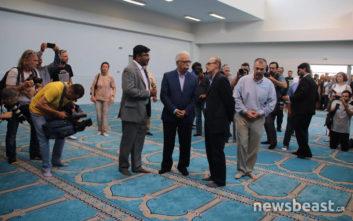 Τα έργα στο ισλαμικό τέμενος επιθεωρεί ο Κώστας Γαβρόγλου