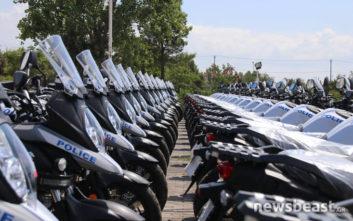 Τα νέα οχήματα και οι μοτοσικλέτες της ΕΛ.ΑΣ.