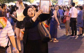 Athens Pride 2019: Η Ελένη Λουκά στην πλατεία Συντάγματος
