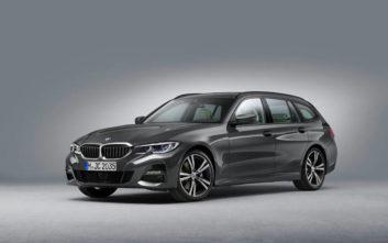 Δυναμική πρακτικότητα για τη νέα BMW Σειρά 3 Touring