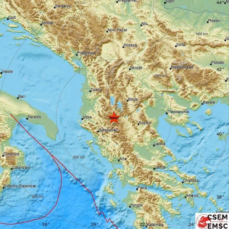 SEISMO - Σεισμός στην Καστοριά