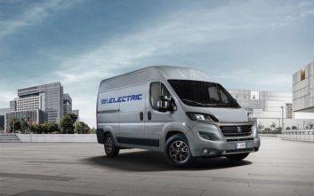 Διαθέσιμο και σε αμιγώς ηλεκτρική έκδοση από το 2020 το νέο Fiat Ducato
