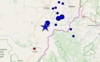 Νέος σεισμός κοντά στην Κορυτσά