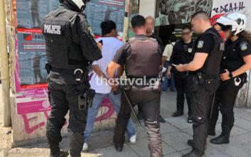 Ένας 20χρονος απειλούσε περαστικούς με λεπίδα στη Θεσσαλονίκη