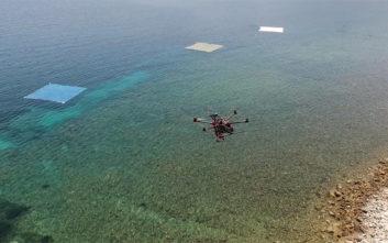Drones και δορυφόροι επιστρατεύονται για τον εντοπισμό πλαστικών στη θάλασσα