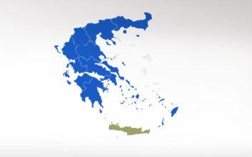 Αποτελέσματα Εκλογών 2019: Πού καταλήγουν οι 13 περιφέρειες και οι μεγάλοι δήμοι