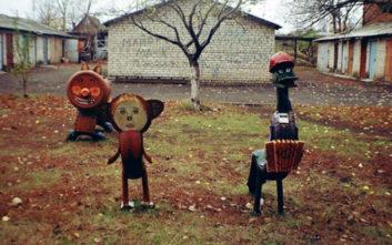 Παιδικές χαρές στη Ρωσία, ελαφρώς τρομακτικές