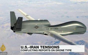 «Σε διεθνή ύδατα» τα συντρίμμια του drone που καταρρίφθηκε από το Ιράν