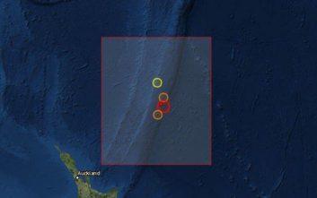 Ισχυρός σεισμός και προειδοποίηση για τσουνάμι στη Νέα Ζηλανδία