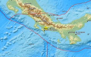 Σεισμός στα σύνορα Παναμά - Κόστα Ρίκα