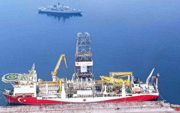 Πολεμικό πλοίο συνοδεύει το τουρκικό «Γιαβούζ» στην κυπριακή ΑΟΖ