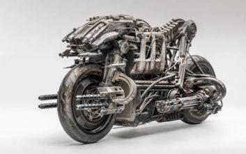 Η μηχανή του «Εξολοθρευτή» είναι ένα μηχανοκίνητο φουτουριστικό ποίημα