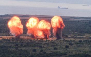 Τουρκία: Εκρήξεις με φόντο διερχόμενα πλοία στα Δαρδανέλια