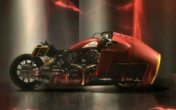 Η μοτοσικλέτα που θέλει να μοιάζει με… τζετ!