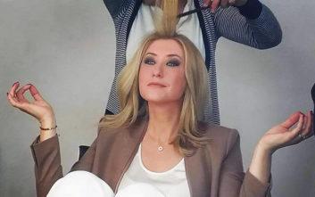 Η Σία Κοσιώνη προχώρησε σε μία εντυπωσιακή αλλαγή στην εμφάνισή της