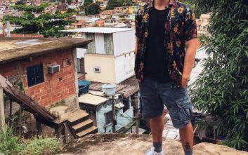 Γνωστός Έλληνας παρουσιαστής έτρεχε να γλιτώσει από πυροβολισμούς στη Βραζιλία