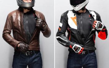 Το έξυπνο γιλέκο της μοτοσικλέτας με τον ακόμα πιο έξυπνο αερόσακο