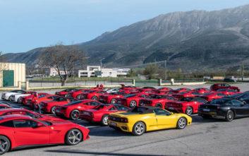 Εντυπωσιακά αυτοκίνητα της Ferrari θα κατακλύσουν πόλεις της Ελλάδας