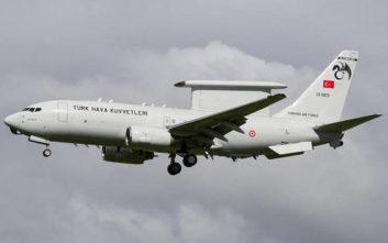 Πτήση τουρκικού ιπτάμενου ραντάρ βόρεια της Λιβύης