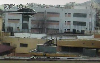 Βίντεο-ντοκουμέντο: Η απόδραση του Παλαιοκώστα με ελικόπτερο από τις φυλακές Κορυδαλλού
