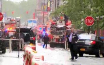 Ελικόπτερο έπεσε πάνω σε κτίριο στο Μανχάταν