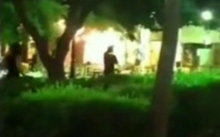 Βίντεο ντοκουμέντο από την επίθεση χούλιγκανς σε καφετέρια στην Πάτρα