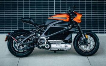 Η Harley-Davidson παρουσιάζει την υπέροχη ηλεκτρική μοτοσικλέτα της