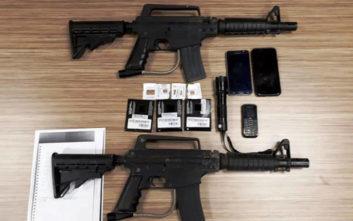 Δεν τους έδωσε λεφτά για «προστασία» μαγαζιού στη Σαλαμίνα και βγήκαν όπλα και μαχαίρια