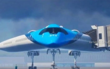 Το αεροπλάνο που βασίζεται σε σχήμα ηλεκτρικής κιθάρας
