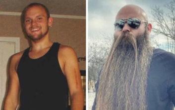 Έχει να ξυρίσει το μούσι του εδώ και πέντε χρόνια