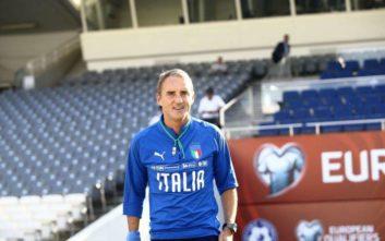 Μαντσίνι: Δύσκολο ματς, αλλά είμαστε Ιταλία και θα μπούμε να κερδίσουμε
