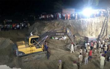Τραγικό τέλος στις έρευνες σε πηγάδι στην Ινδία, νεκρό ανασύρθηκε το 2χρονο αγόρι