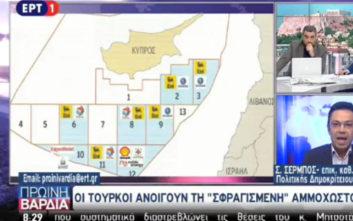 «Η Τουρκία δεν μπλοφάρει με τις γεωτρήσεις στην Ανατολική Μεσόγειο»