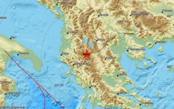 Σεισμός στα σύνορα Ελλάδας-Αλβανίας