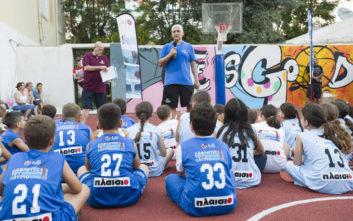 Πρώτος αθλητικός σταθμός το Καστελλόριζο για τους «LG Αθλητές του Αύριο»