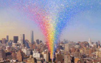 Εντυπωσιακό ψηφιακό μνημείο για τα δικαιώματα των ΛΟΑΤΚΙ